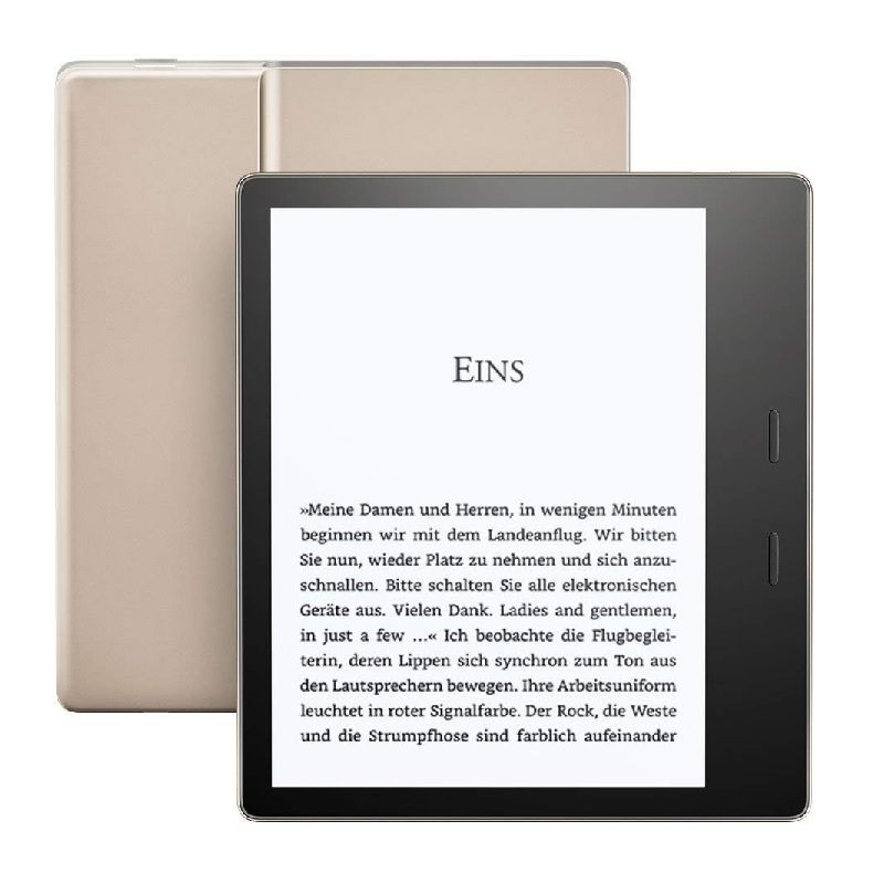 Amazon Kindle Oasis 2 WiFi, 8GB, bez reklám, gold